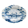 "JULISKA: Country Estate Delft Blue 18.5"" Serving Platter Main House"