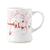 "JULISKA: Country Estate Winter Frolic ""Mr. & Mrs. Claus"" Ruby Mug"