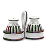 CIRCO: Salt and Pepper cruet set with caddy [R]