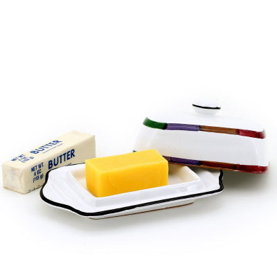 CIRCO: Butter Dish w cover