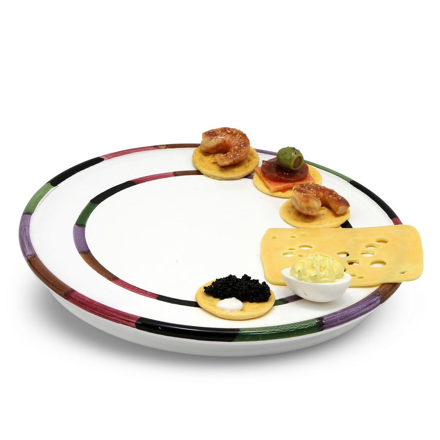 CIRCO: Cake Cheese Pizza Flat Platter [R]