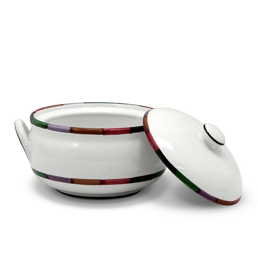 CIRCO: Round Tureen with Handles [R]