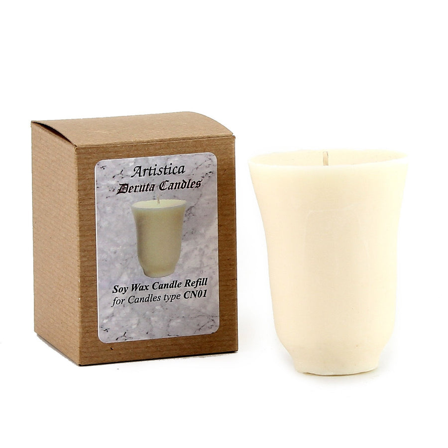 REFILL FOR ARTISTICA CANDLES : Save 25% as add-in to this order - UNSCENTED -