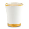 DERUTA ORO: Deluxe Precious Flared Candle with Pure Gold Rim