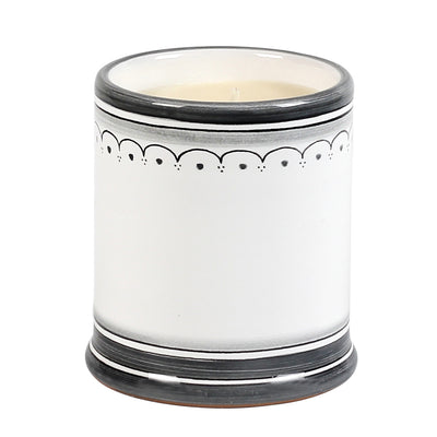 DERUTA CANDLES: Jar Cup Candle with lid ~ Shades of Gray