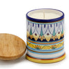Jar Cup Candle with lid - Deruta Vario Design