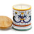 DERUTA CANDLES: Jar Cup Candle with lid ~ Ricco Deruta Design