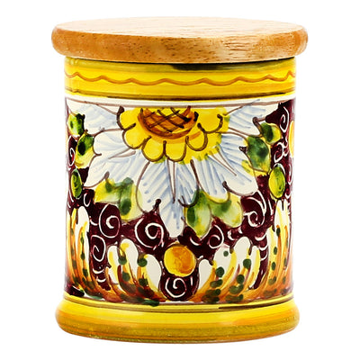 Jar Cup Candle with lid ~ Rubino Toscana Design