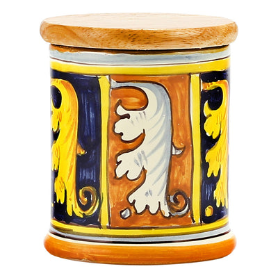 DERUTA CANDLES: Jar Cup Candle with lid ~ Campiture Toscana Design