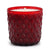 ROMANTICA: Net Glass Design Candle ~ RED (10 Oz)