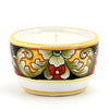 Jar Deruta Ceramic Candle with lid - Deruta Vario #4 Design