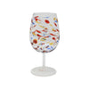VIETRI: Carnevale Wine Glass