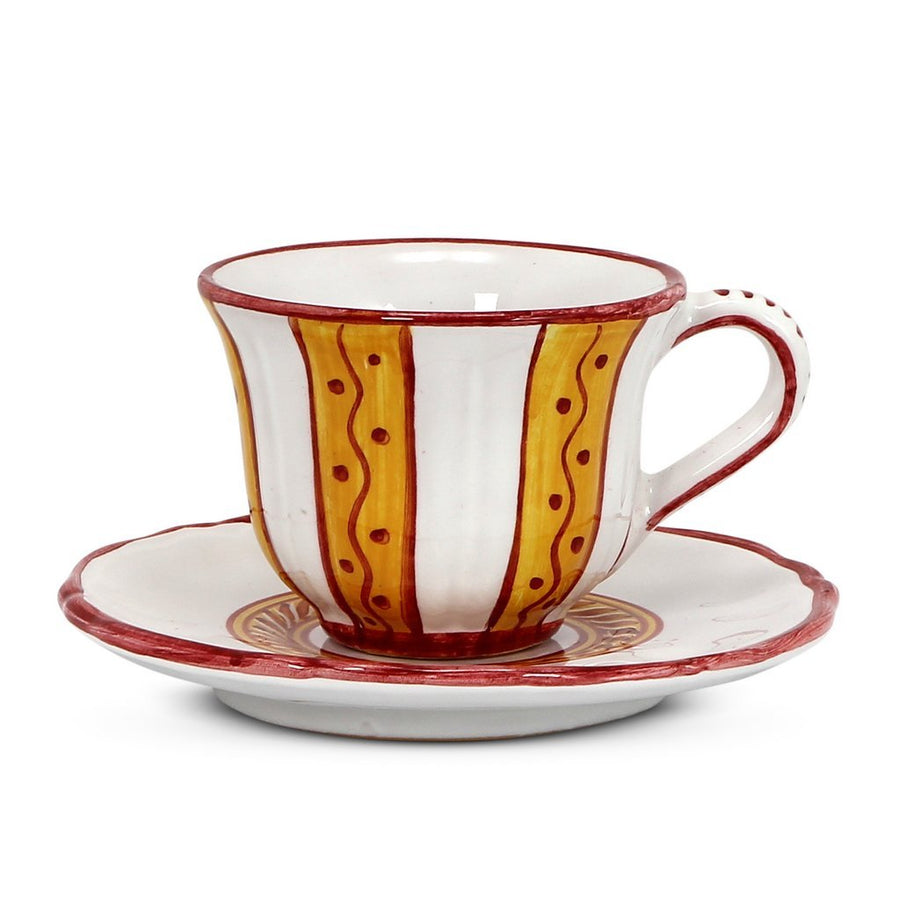 CORDONE: Cup and Saucer (Bundle of 4 Pcs) [R]
