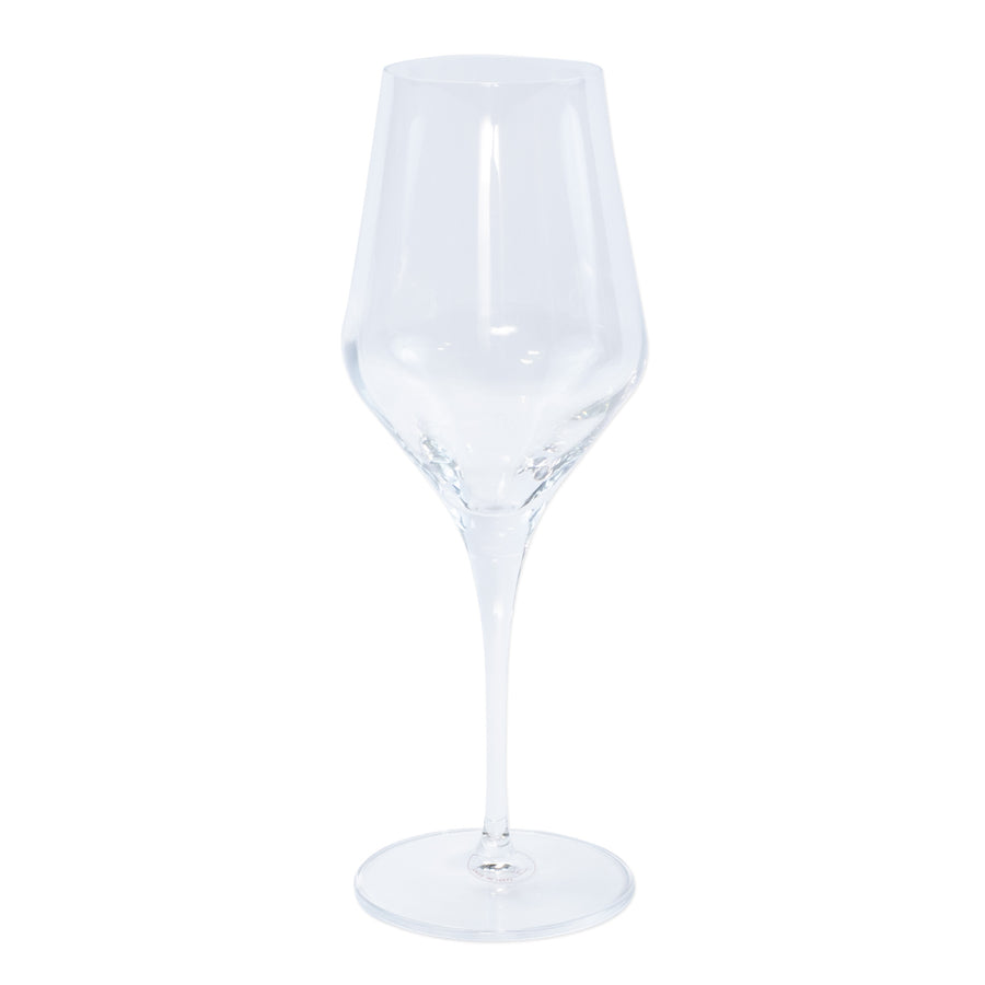 VIETRI: Contessa Clear Water Glass