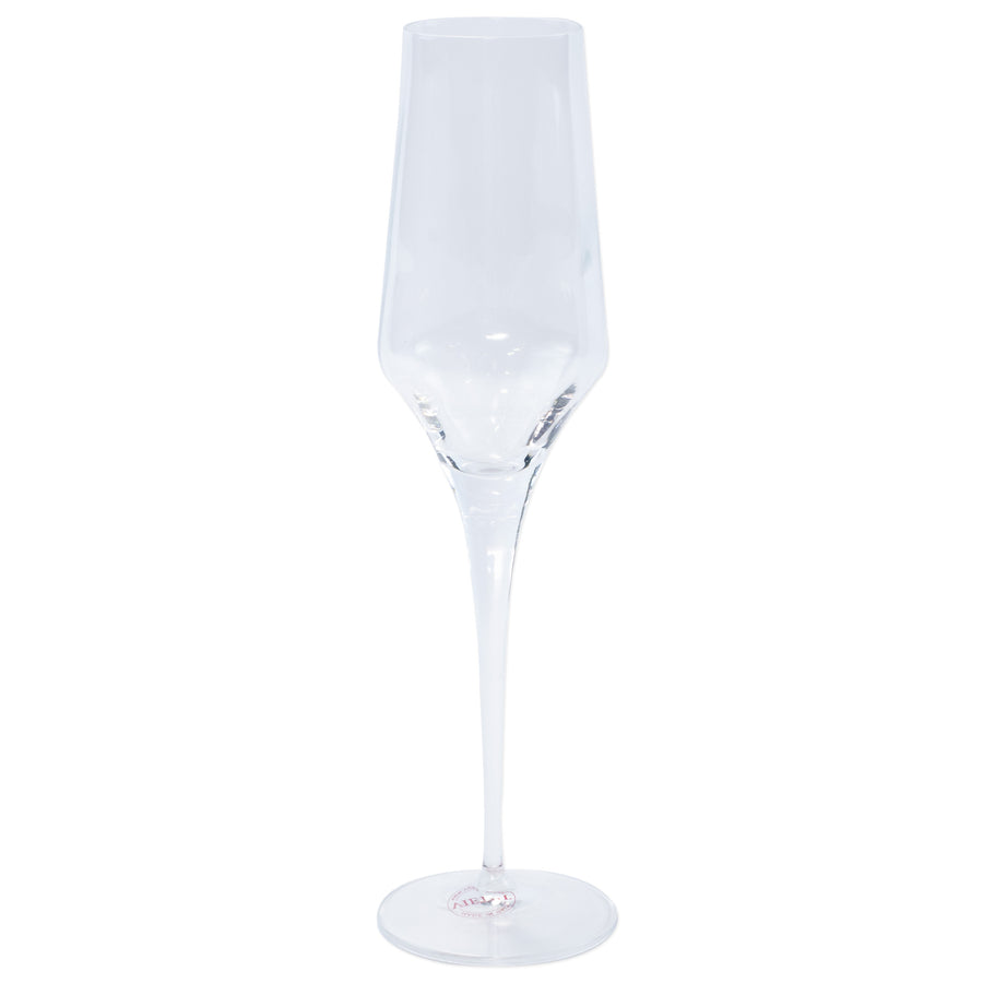 VIETRI: Contessa Clear Champagne Glass