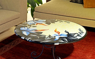 TABLE + IRON BASE: CRACOVIA Design
