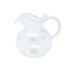 VIETRI: Drop White Three-Spout Pitcher