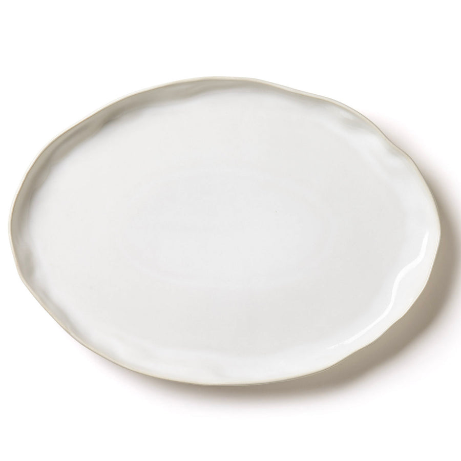 VIETRI: Forma Cloud Large Oval Platter