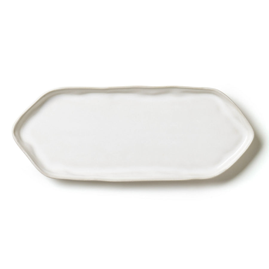 VIETRI: Forma Cloud Rectangular Platter w Triangular Edges