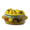 FRUTTA: Round Bowl Centerpiece with Lion heads
