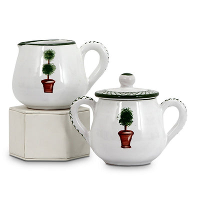 GIARDINO: Sugar and Creamer Set