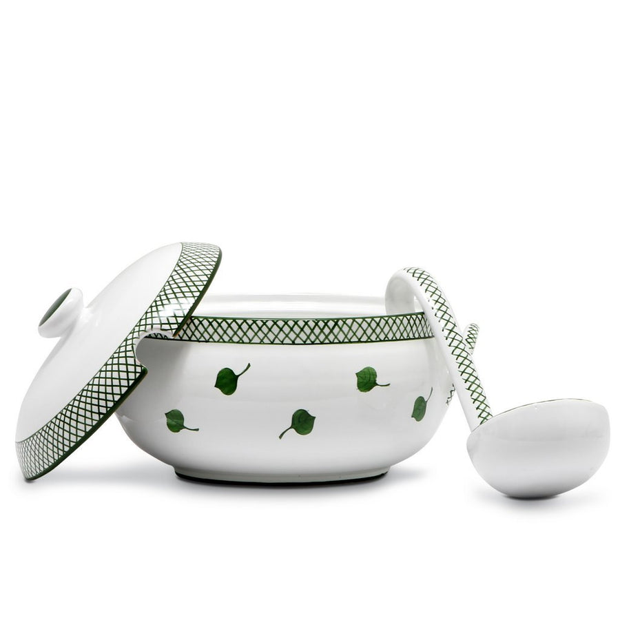 GIARDINO: Soup Tureen w/Laddle