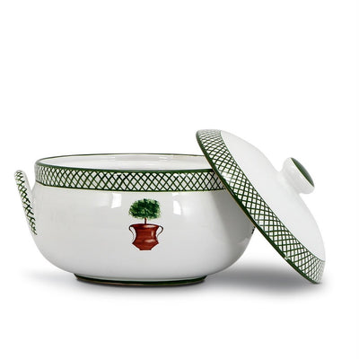 GIARDINO: Round Tureen with Handles