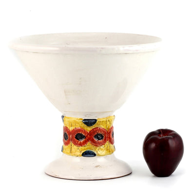 SCAVO FOLK: Footed conic bowl centerpiece