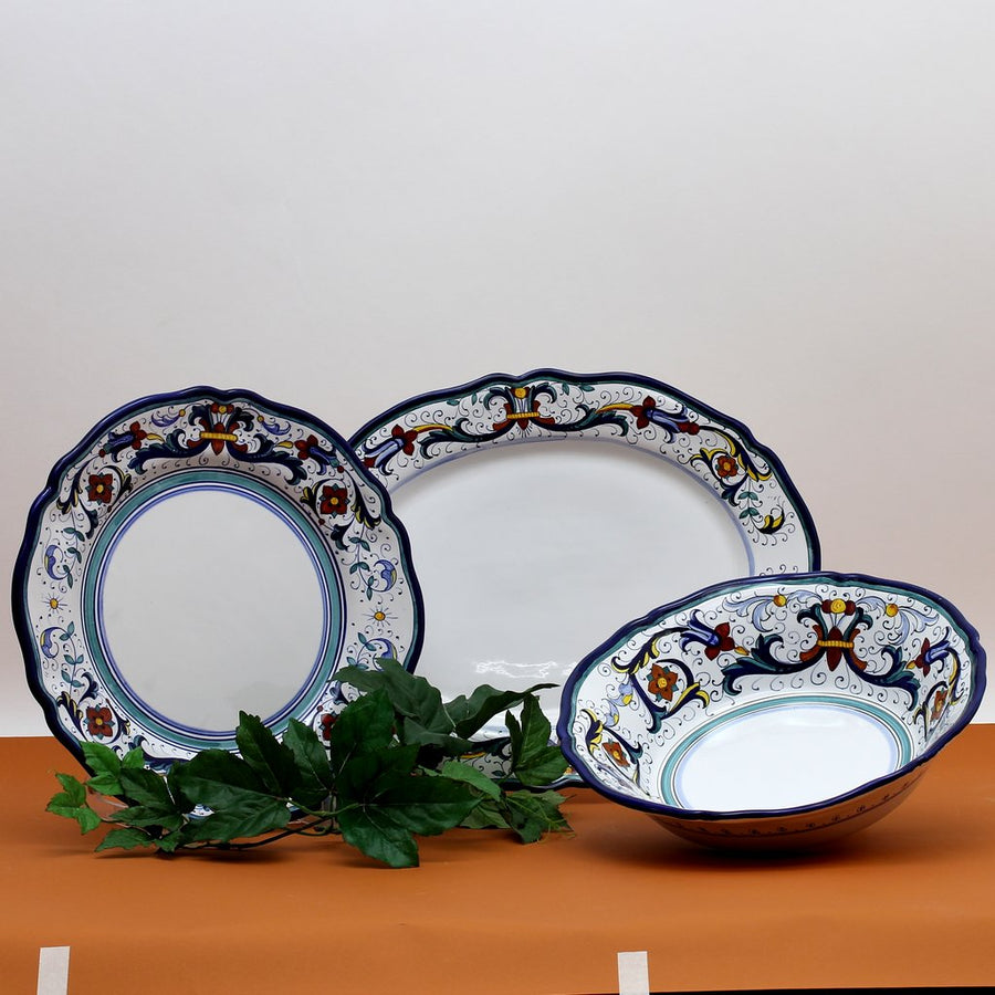 VECCHIA DERUTA: 3 Pcs Serving Set Bundle