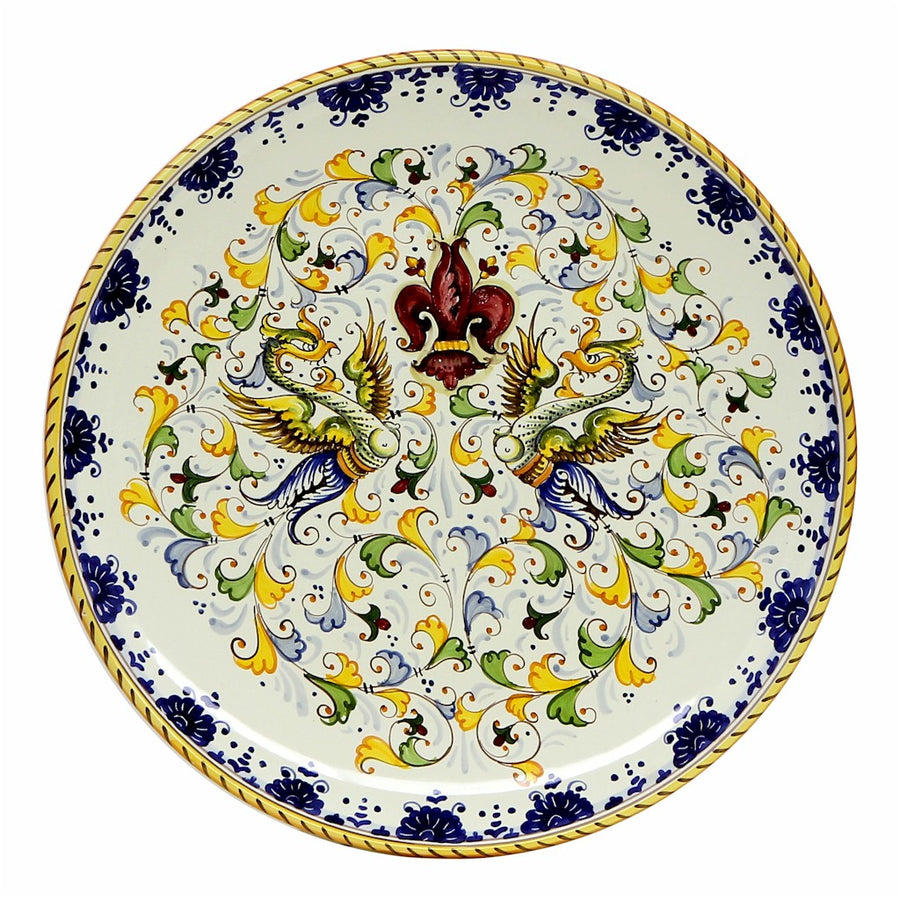 GIGLIO: Round Wall Plate (20D)