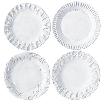 VIETRI: Incanto Asst Canape Plate (Set of 4)