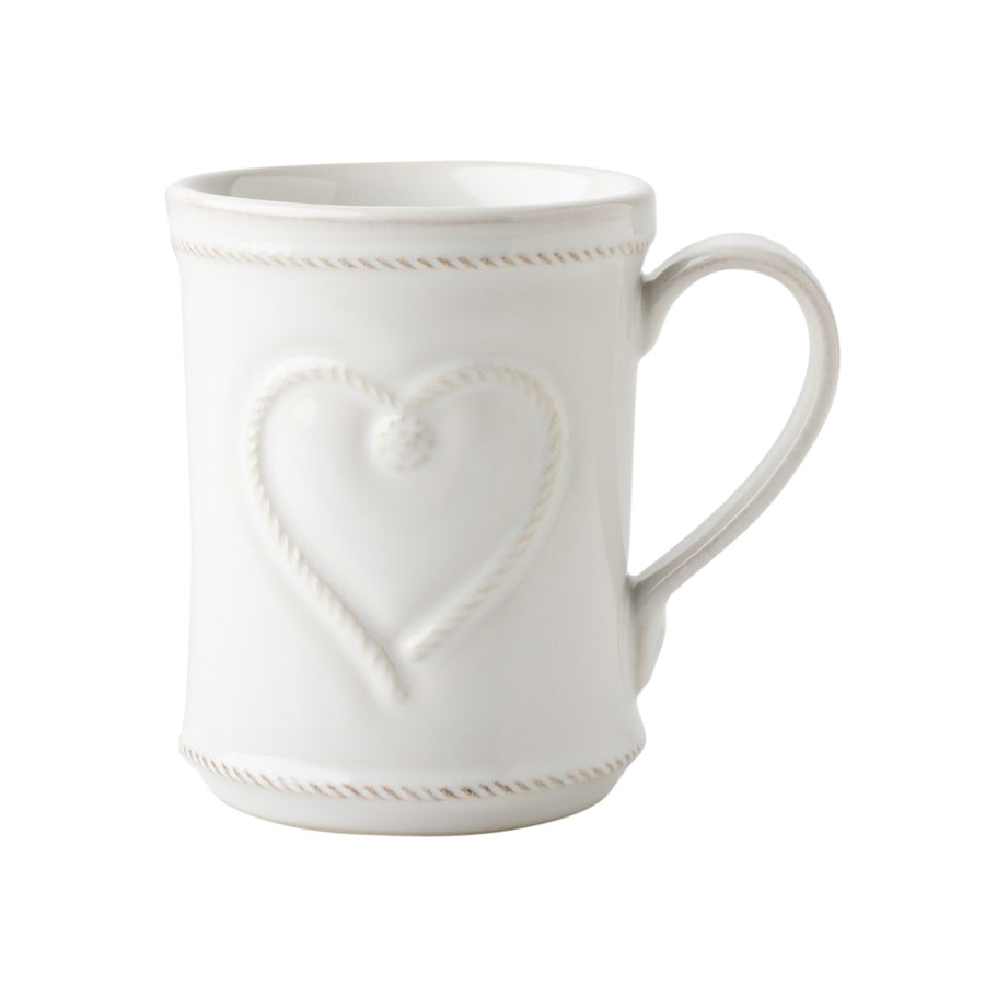 JULISKA: Berry & Thread Whitewash Cupfull of Love Mug