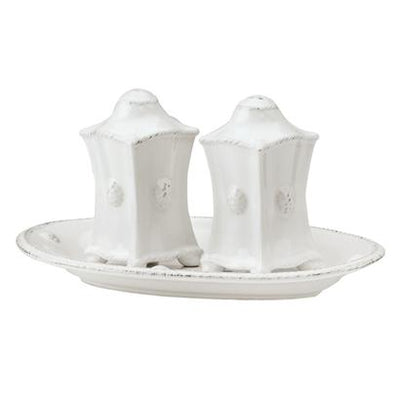 JULISKA: Berry & Thread Whitewash Salt and Pepper Set