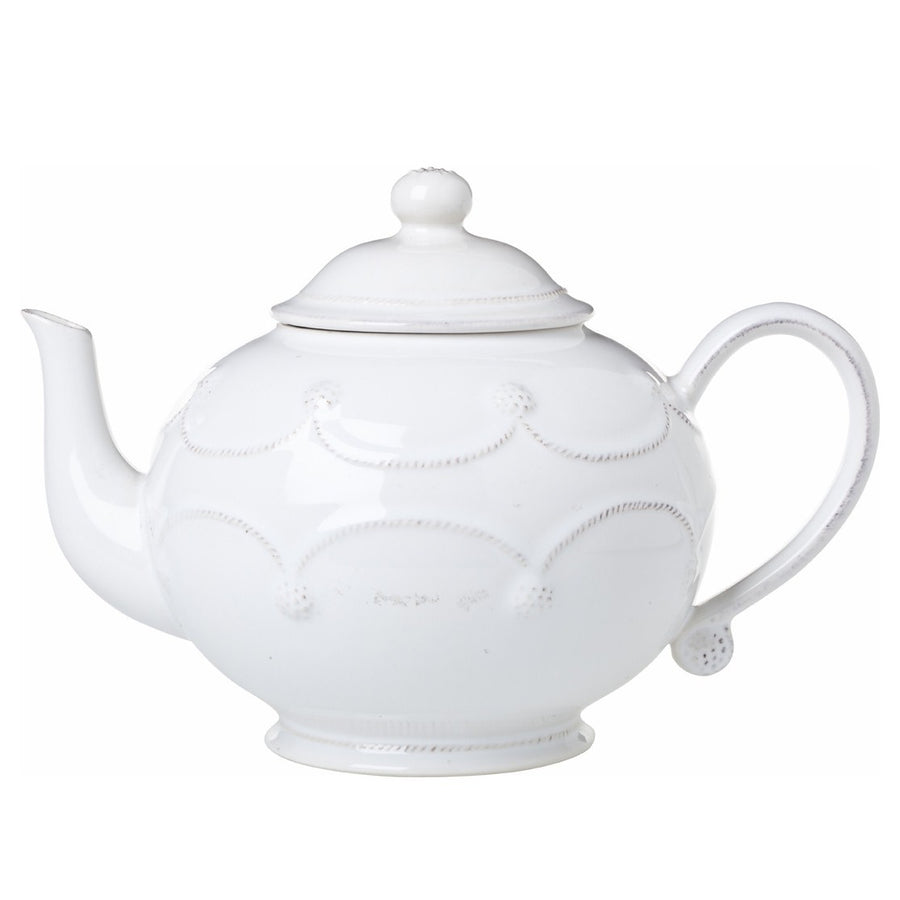 JULISKA: Berry & Thread Whitewash Teapot