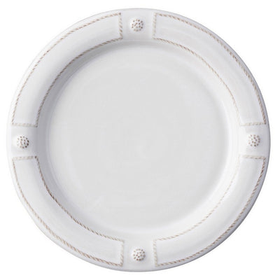 JULISKA: Berry & Thread French Panel Whitewash Dinner Plate