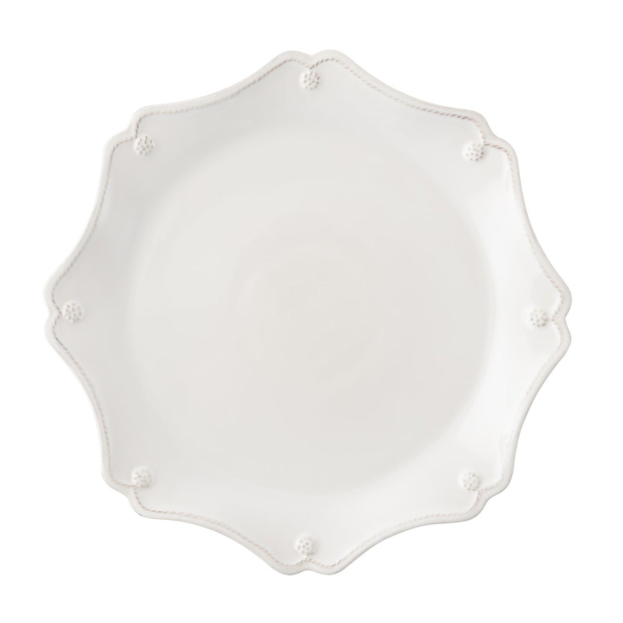 JULISKA: Berry & Thread Whitewash Scallop Charger Plate