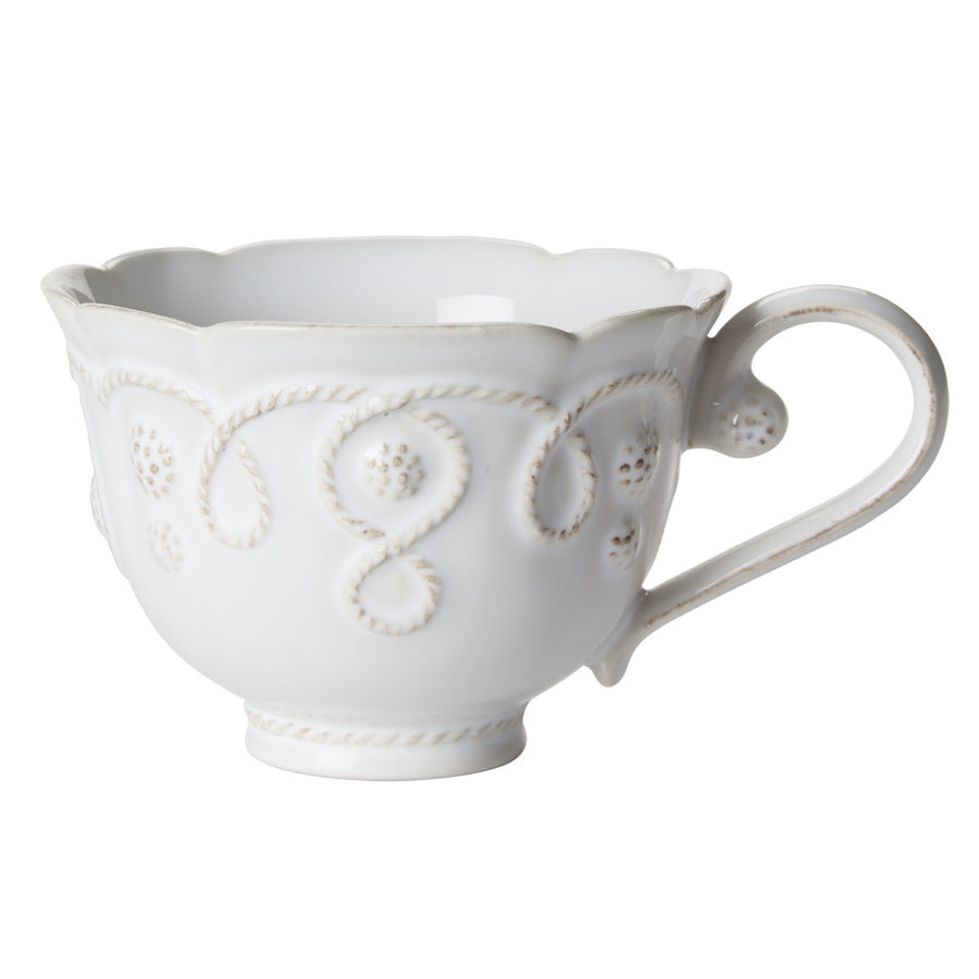 JULISKA: Jardins du Monde Whitewash Tea Cup
