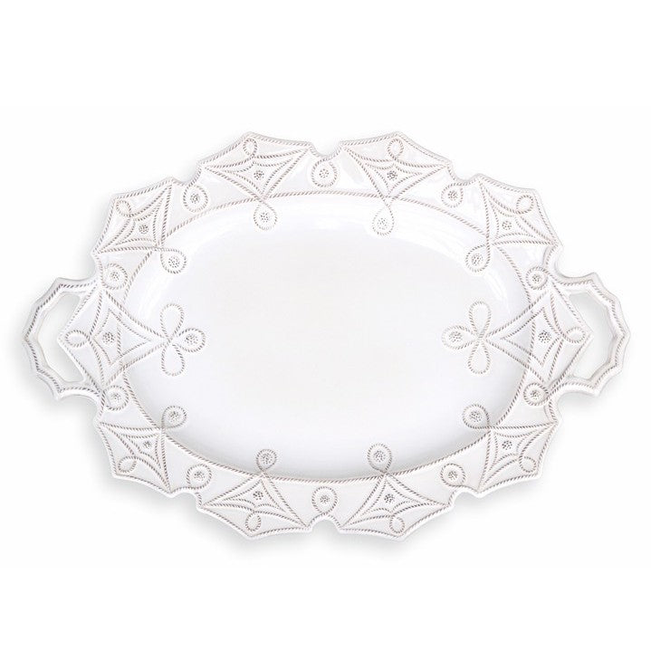 JULISKA: Jardins du Monde Whitewash Turkey Platter