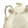 SCAVO DORI: Ant White Bottle Flask w Two Handles