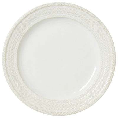 JULISKA: Le Panier Whitewash Dinner Plate