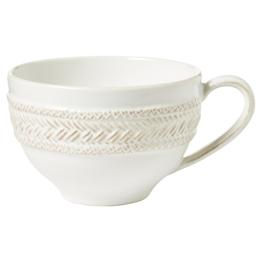 JULISKA: Le Panier Whitewash Tea/Coffee Cup