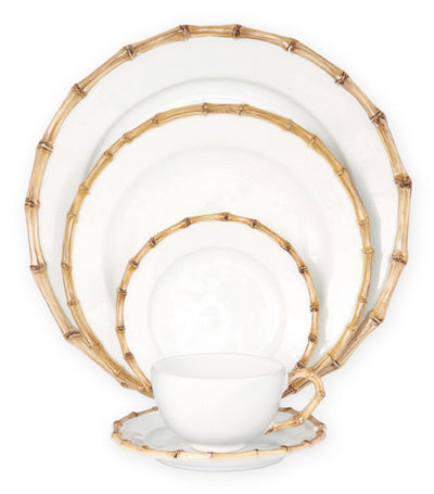 JULISKA: Classic Bamboo Natural 5pc Setting