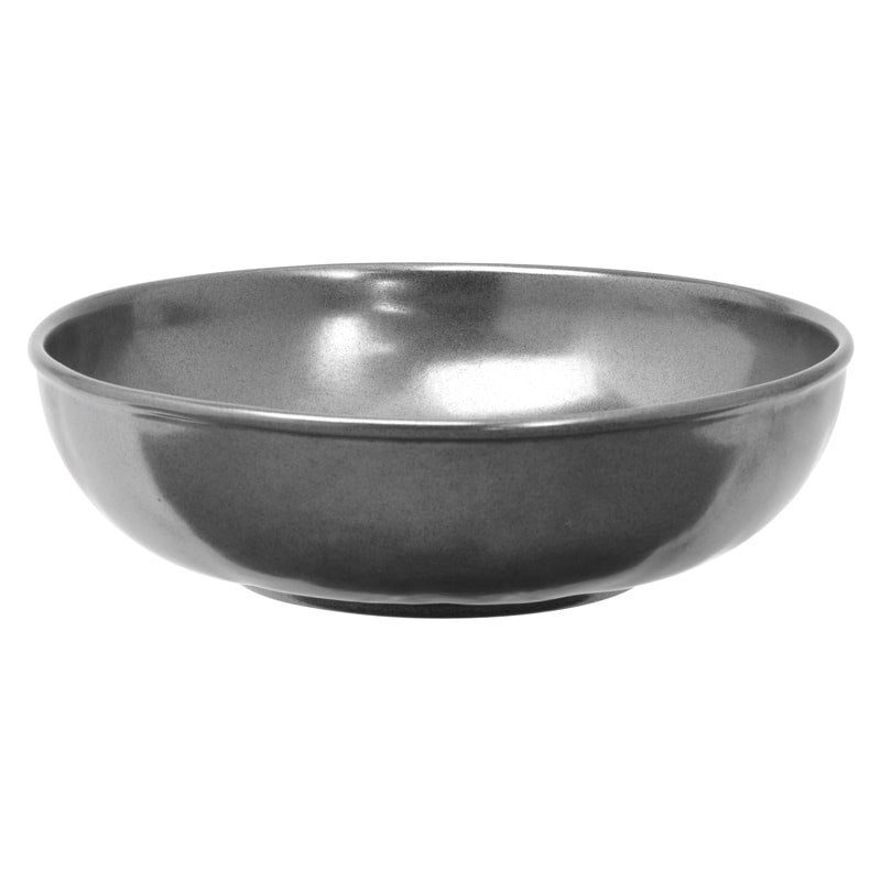 JULISKA: Pewter Stoneware Coupe Pasta/Soup Bowl