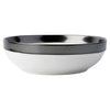JULISKA: Emerson White/Pewter Coupe Bowl