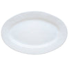 "JULISKA: Quotidien White Truffle 15"" Oval Platter"