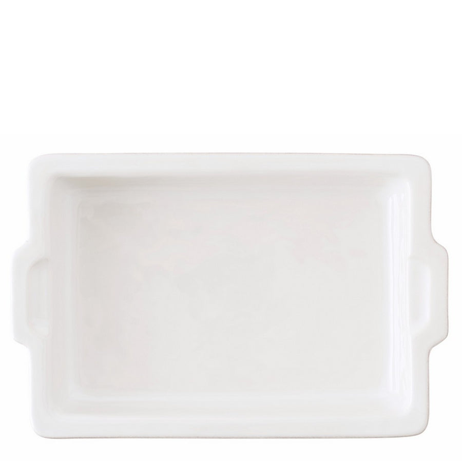"JULISKA: Puro Whitewash 16"" Rectangular Baker"