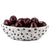 DOLFI PALLINI: Oval Centerpiece Bowl BLACK and WHITE