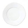 VIETRI: Lastra White European Dinner Plate