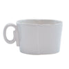 VIETRI: Lastra Light Gray Jumbo Cup