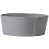 VIETRI: Lastra Gray Large Serving Bowl
